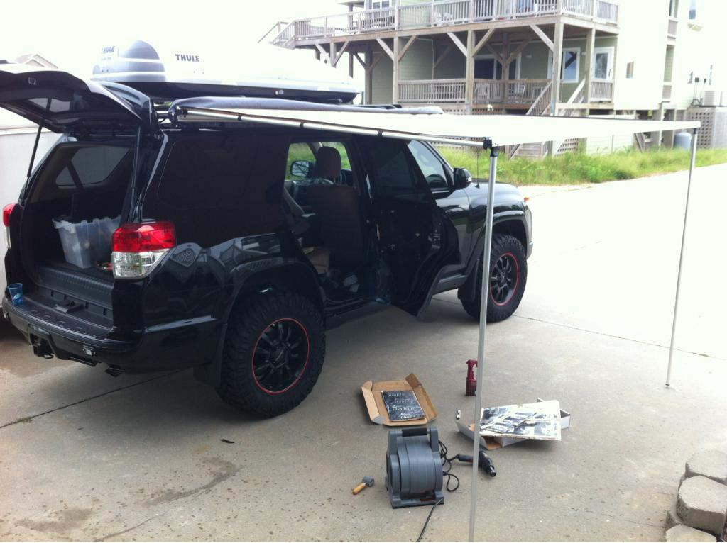 Roof Rack Vs Cargo Box Toyota 4runner Forum Largest
